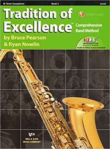 TRADITION OF EXCELLENCE 3 SAXOPHONE TENOR BB PEARSON NOWLIN