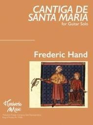 CANTIGA DE SANTA MARIA HAND