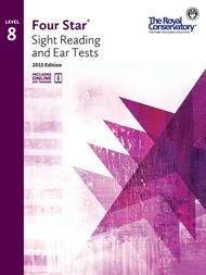 FOUR STAR SIGHT READING & EAR TESTS 8 2015 EDITION ROYAL CON (4S08 ) (Piano Methods )