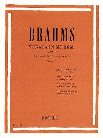 SONATA EB MAJOR 2 OP 120 SCORE AND PARTS ( PIANO REDUCTION ) (Clarinet Bb Solos )