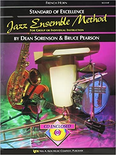 STANDARD OF EXCELLENCE JAZZ ENSEMBLE METHOD FRENCH HORN SORE