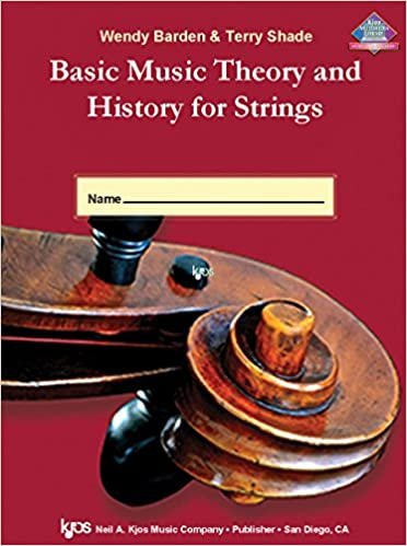 BASIC MUSIC THEORY & HISTORY FOR STRINGS WORKBOOK 1 VIOLA BA