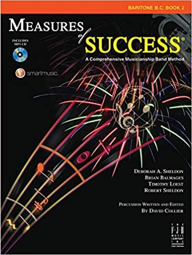 MEASURES OF SUCCESS 2 BARITONE SAXOPHONE BALMAGES SHELDON BK