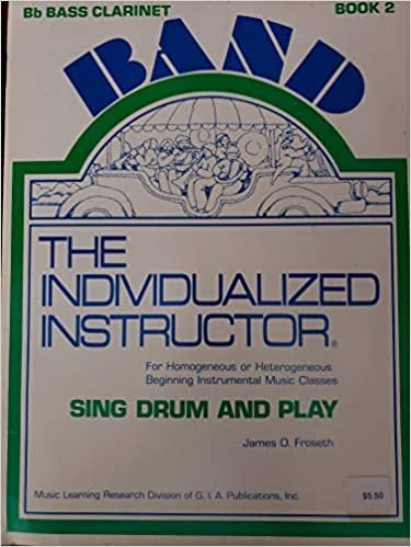 INDIVIDUALIZED INSTRUCTOR SING DRUM & PLAY 2 CLARINET Bb FRO