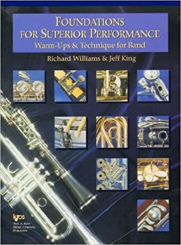 FOUNDATIONS FOR SUPERIOR PERFORMANCE EUPHONIUM TC WILLIAMS K