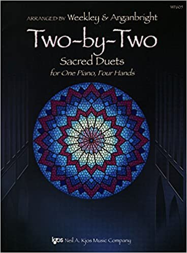 TWO BY TWO WEEKLEY ARGANBRIGHT FED24 (WP605 ) (Sacred Piano Duet Folios )