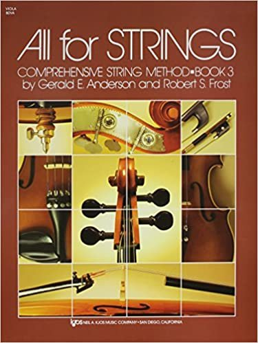 ALL FOR STRINGS 3 VIOLA ANDERSON FROST