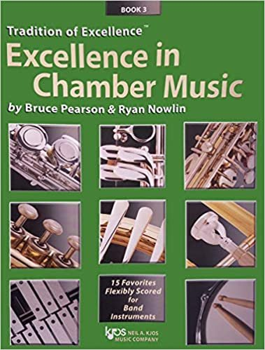 TRADITION OF EXCELLENCE EXCELLENCE IN CHAMBER MUSIC 3 SAXOPH