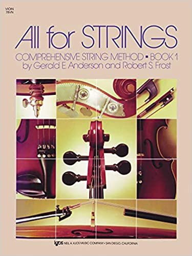 ALL FOR STRINGS 1 VIOLIN ANDERSON FROST