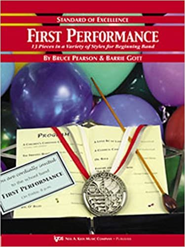 STANDARD OF EXCELLENCE FIRST PERFORMANCE PIANO/GUITAR ACCOMP