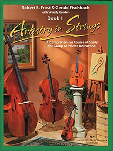 ARTISTRY IN STRINGS 1 CELLO FROST FISCHBACH BARDEN