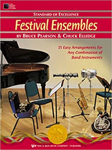 STANDARD OF EXCELLENCE FESTIVAL ENSEMBLES FRENCH HORN PEARSO
