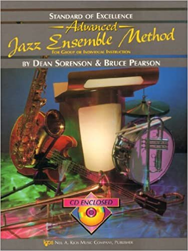STANDARD OF EXCELLENCE ADVANCED JAZZ ENSEMBLE METHOD DRUMS S