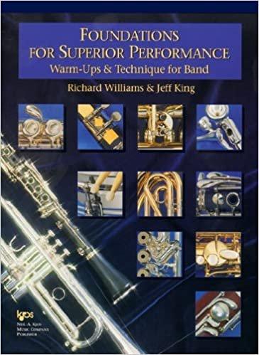FOUNDATIONS FOR SUPERIOR PERFORMANCE CONDUCTOR SCORE WILLIAM