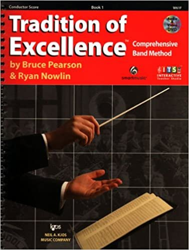 TRADITION OF EXCELLENCE 1 CONDUCTORS SCORE 2ND EDITION PEARS
