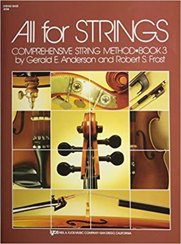 ALL FOR STRINGS 3 STRING BASS ANDERSON FROST