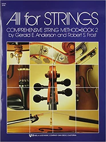 ALL FOR STRINGS 2 VIOLA ANDERSON FROST