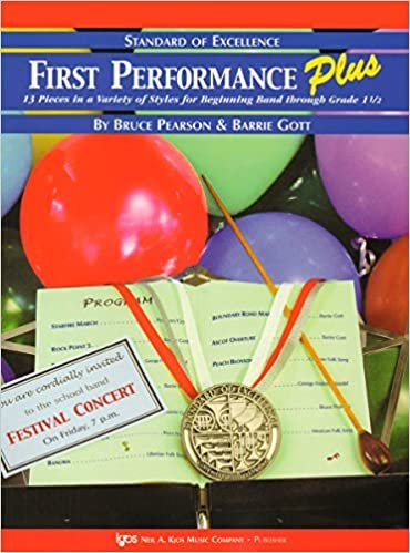 STANDARD OF EXCELLENCE FIRST PERFORMANCE PLUS HORN IN F PEAR