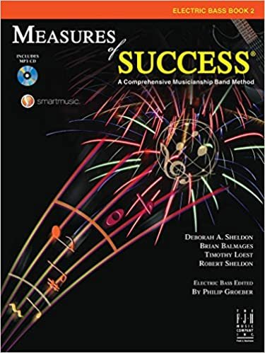 MEASURES OF SUCCESS 2 ELECTRIC BASS BALMAGES SHELDON BKCD