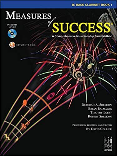MEASURES OF SUCCESS 1 CLARINET BASS SHELDON BALMAGES LOEST O
