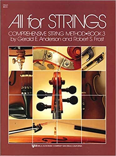 ALL FOR STRINGS 3 CELLO ANDERSON FROST