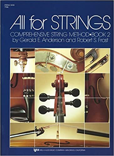 ALL FOR STRINGS 2 STRING BASS ANDERSON FROST