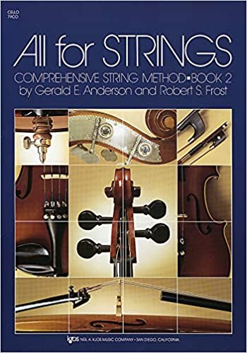 ALL FOR STRINGS 2 CELLO ANDERSON FROST