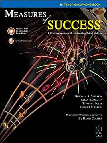 MEASURES OF SUCCESS 1 SAXOPHONE TENOR SHELDON BALMAGES LOEST