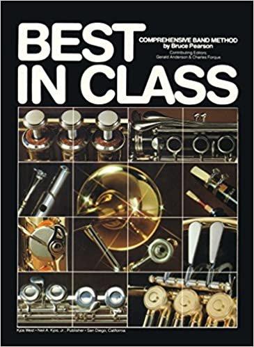 BEST IN CLASS 1 CLARINET ALTO Eb PEARSON ANDERSON FORQUE