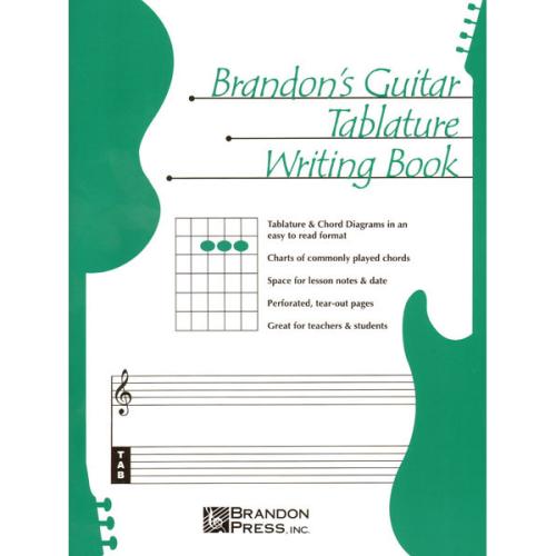 BRANDONS BASS TABLATURE WRITING BOOK TAB
