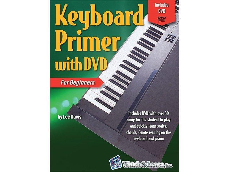 KEYBOARD PRIMER FOR BEGINNERS DELUXE EDITION DAVIS BKDVD (KPDE ) (Piano Methods )