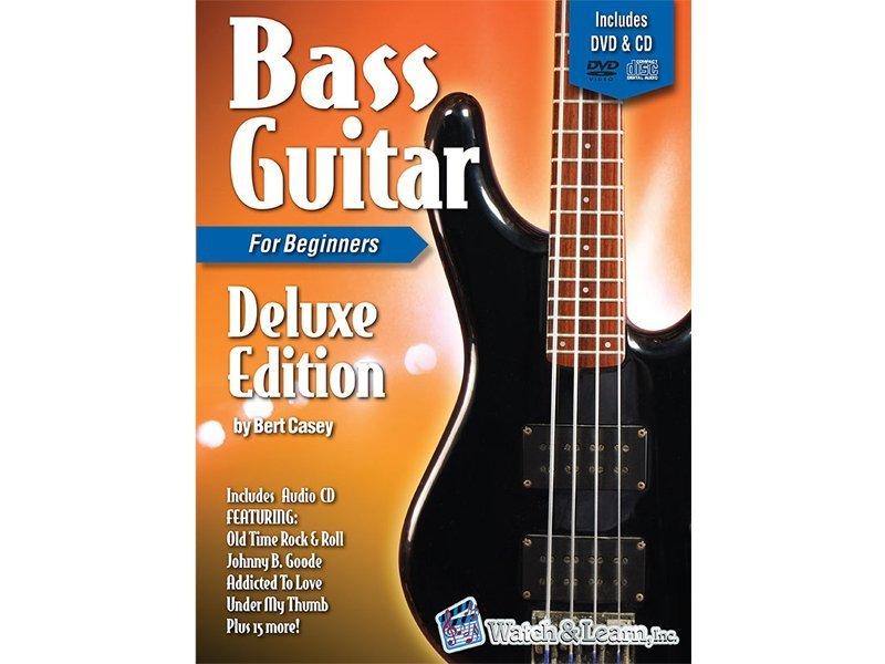 BASS GUITAR PRIMER FOR BEGINNERS DELUXE EDITION CASEY BKCDV (BGDE )