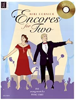 ENCORES FOR TWO CORNICK BKCD (UE021614 ) (Piano Duet Books )