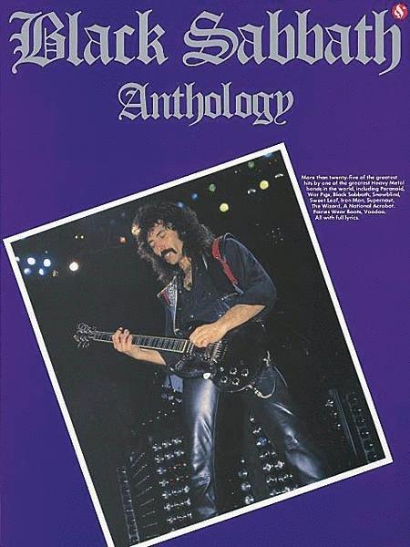 BLACK SABBATH ANTHOLOGY TAB (14004479 ) (Guitar Folios )