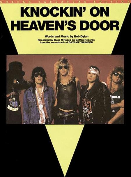 KNOCKIN ON HEAVENS DOOR FROM DAYS OF THUNDER DYLAN TAB
