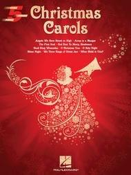 CHRISTMAS CAROLS 5FING (00236800 ) (Christmas Piano Book )