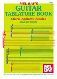 GUITAR TABLATURE BOOK 32 PG BAY TAB