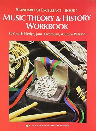 STANDARD OF EXCELLENCE 1 MUSIC THEORY & HISTORY WORKBOOK ELL