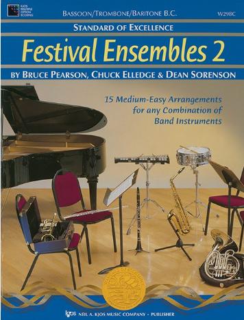 STANDARD OF EXCELLENCE FESTIVAL ENSEMBLES 2 BASSOON / TROMBO