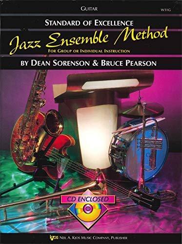 STANDARD OF EXCELLENCE JAZZ ENSEMBLE METHOD GUITAR SORENSON