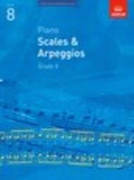 SCALES & ARPEGGIOS GRADE 8 2014 - 2015 ASSOCIATED BOARD (9781860969201 ) (Piano Methods )