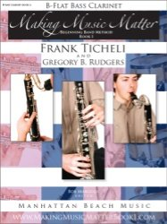 MAKING MUSIC MATTER 1 CLARINET BASS TICHELI RUDGERS