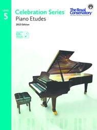 CELEBRATION SERIES 5 PIANO ETUDES 2015 EDITION ROYAL CONSERV (C5S05 ) (Piano Methods )