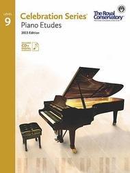 CELEBRATION SERIES 9 PIANO ETUDES 2015 EDITION ROYAL CONSERV (C5S09 ) (Piano Methods )