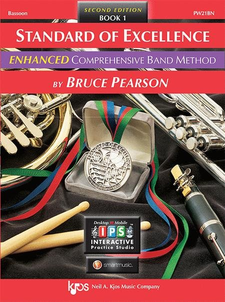 STANDARD OF EXCELLENCE ENHANCED 1 BASSOON 2ND EDITION PEARSO