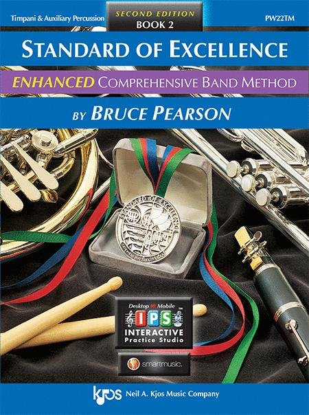 STANDARD OF EXCELLENCE ENHANCED 2 TIMPANI & AUXILLARY PERCUS