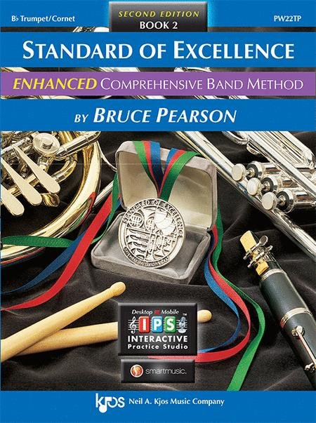 STANDARD OF EXCELLENCE ENHANCED 2 TRUMPET BB 2ND EDITION PEA