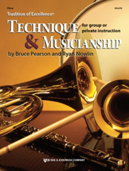 TRADITION OF EXCELLENCE TECHNIQUE & MUSICIANSHIP OBOE PEARSO