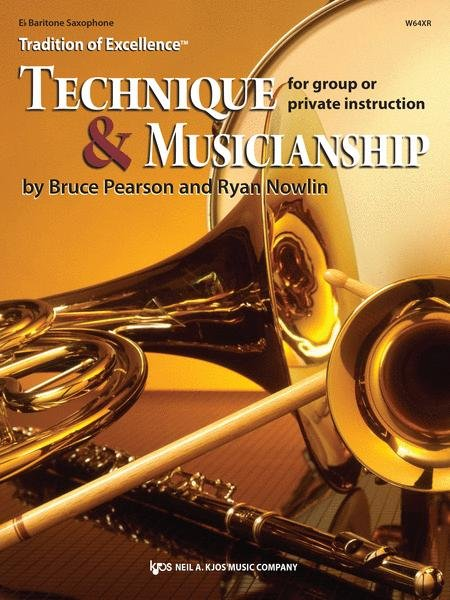 TRADITION OF EXCELLENCE TECHNIQUE & MUSICIANSHIP SAXOPHONE B