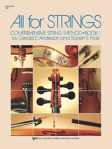 ALL FOR STRINGS 1 STRING BASS ANDERSON FROST